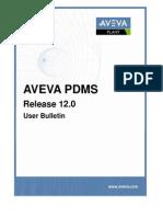 PDMS User Bulletin12.0