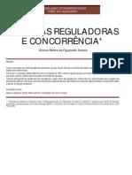 agencias reguladoras e concorrência