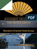 Presentation Mandarin Oriental