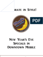 New Year's Eve Specials