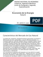 Caracteristicas Del Mercado Del GN-Parte IX