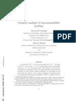Krzysztof Ciesielski and Saharon Shelah- Category analogue of sup-measurability problem