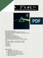 Pink Floyd - wybrana dyskografia i tłumaczenia