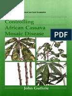 Cassava - Mosaic Disease