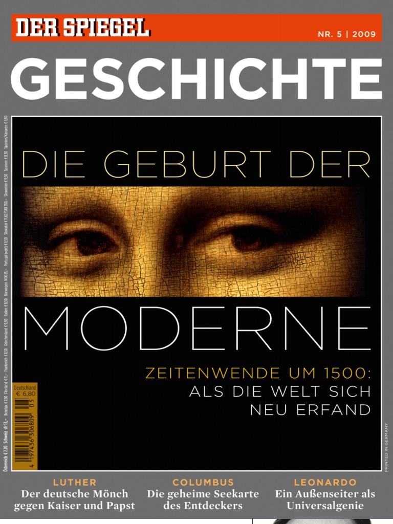 Spiegel special geschichte die geburt der moderne for Der spiegel redakteure