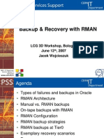 Backup&Recovery With RMAN