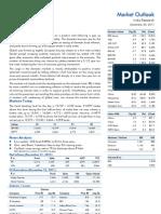 Market Outlook 23rd December 2011