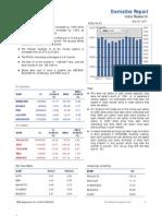 Derivatives Report 23rd December 2011