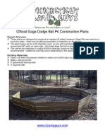 Gaga Pit Construction Plans