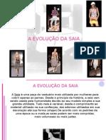 A evolução da saia