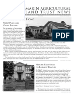 2006 Fall Marin Agricultural Land Trust Newsletter