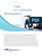 Microsoft Visual Studio 2010 Ultimate Datasheet