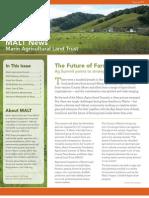 2011 Spring Marin Agricultural Land Trust Newsletter