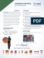 Nestle Symposium Application 2012