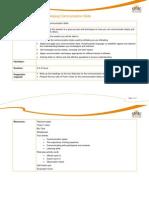 Communication Skills Training Session Plan