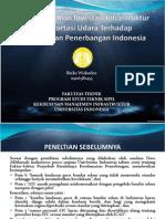 Analisis Peranan Investasi Infrastruktur Transportasi Udara Terhadap Keselamatan Penerbangan Indonesia
