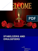 Stabilizers and Emulsimisers
