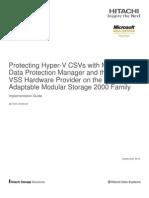 Hitachi Implementation Guide Protecting Hyper v Csvs