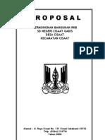 Proposal Rehab Gedung Sekolah