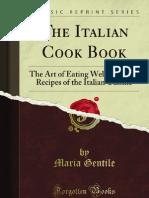 The Italian Cook Book - 9781451017427