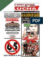 Unidad y Lucha, nº 258, octubre 2008