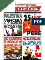 Unidad y Lucha, nº 261, enero 2009