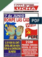 Unidad y Lucha, nº 265, mayo 2009