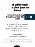 The Fiqh of Marriage in Light of The Quran & Sunnah - by Shaikh Dr. Saleh bin Ghanim as-Sadlan