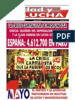 Unidad y Lucha, nº 275, mayo 2010