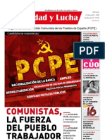 Unidad y Lucha, nº 285, mayo 2011