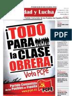 Unidad y Lucha, nº 288, octubre 2011