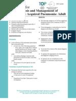 CAP Adult Guideline