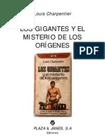 Los Gigantes y El Misterio de Los Origenes - Louis-Charpentier