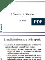 Indici Di Bilancio - Lucidi
