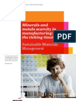 Impact of Minerals Metals Scarcity on Business