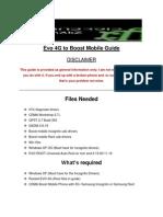 Evo4g to Boost Mobile Guide