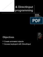 03. Sprite Programming Direct Input