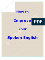 How to Improve Your Spoken English