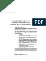 Analisis Urbanisitico de Barrios Desfavorecidos