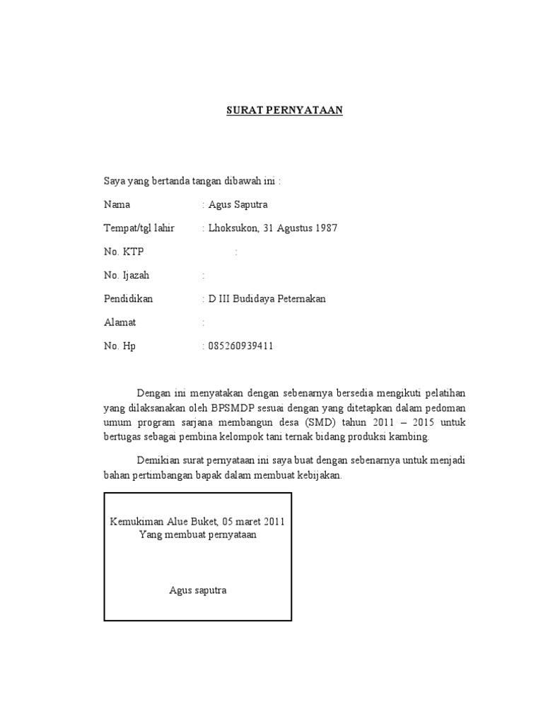 Inilah Contoh Surat Pernyataan Kesanggupan Training Paling Baru Paling Lengkap Paling Update Paling Bagus Referensi Contoh Surat Resmi