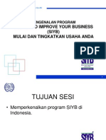 Pengenalan SIYB Program Revised2.ppt
