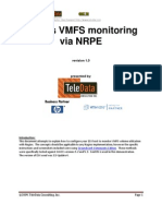 Nagios How to Monitor VMFS on ESX With NRPE