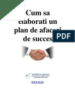 Cum Sa Elaborati Un Plan de Afaceri de Succes