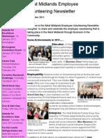Employee Volunteering Newsletter December 2011