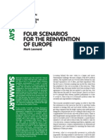 Ecfr43 Reinvention of Europe Essay Aw1