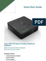 Cisco Spa122 Quick Start Guide