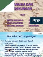 Manusia Dan Lingkungan ISBD (2)