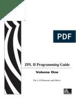 ZPL Manual x14 Vol1