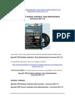 Apostila TSE Analista Judiciário Área Administrativa Concurso 2011-12