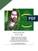 The Martyrs by Prof M S Tajar